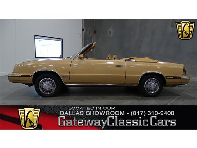 1985 Chrysler LeBaron   952253