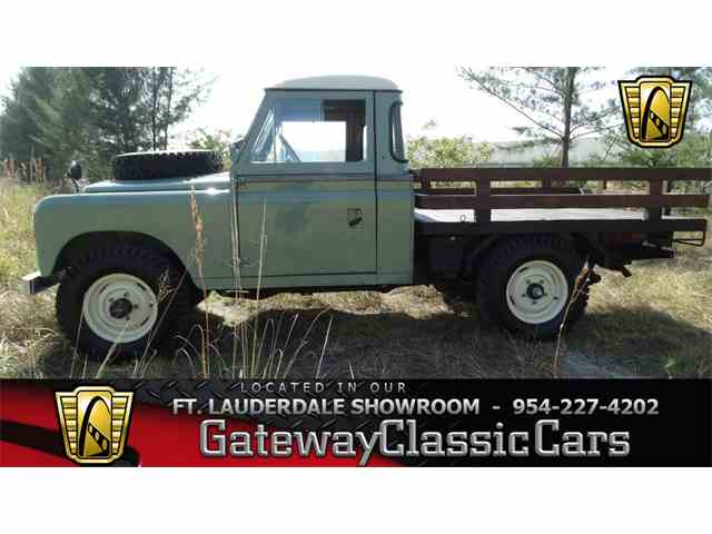1971 Land Rover Series IIA | 952278