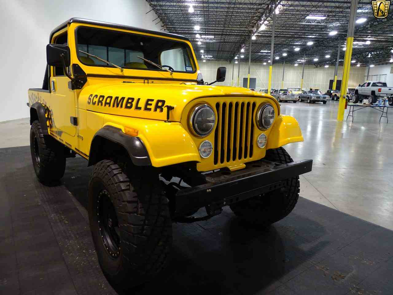 Large Picture of '85 CJ8 Scrambler - KEST