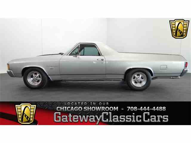 1972 chevrolet el camino for sale on 25. Black Bedroom Furniture Sets. Home Design Ideas