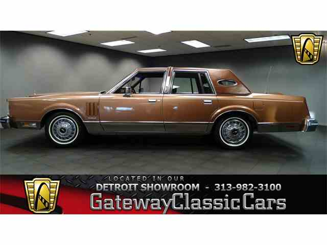 1983 Lincoln Continental | 952466