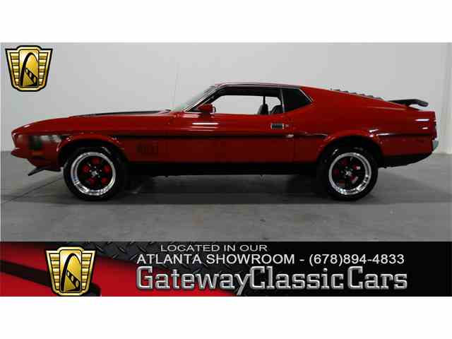 1972 Ford Mustang   952649