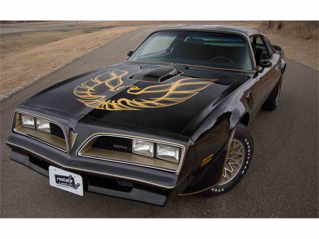 1978 pontiac firebird trans am for sale cc 953044. Black Bedroom Furniture Sets. Home Design Ideas