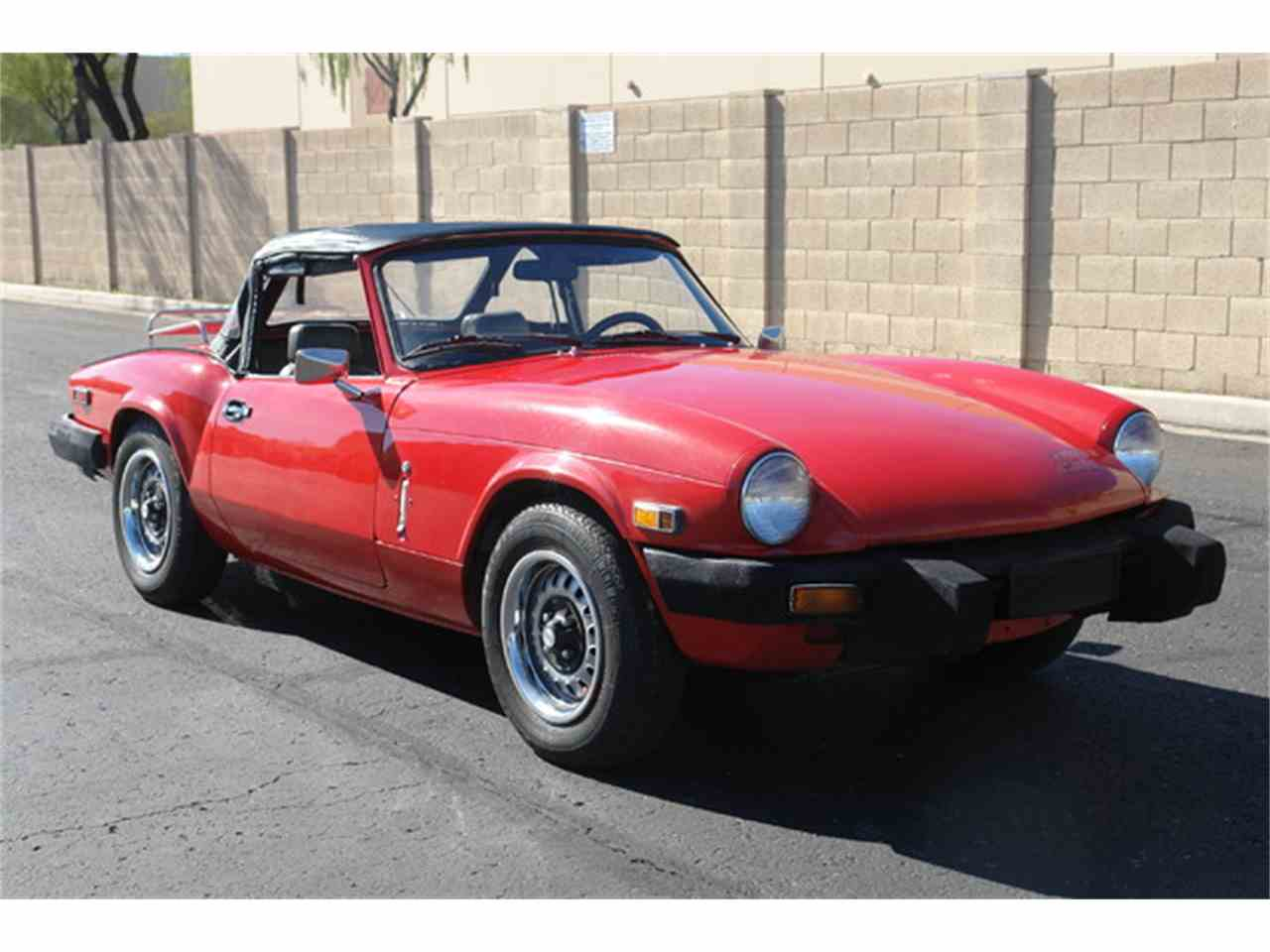 1979 triumph spitfire for sale cc 953094. Black Bedroom Furniture Sets. Home Design Ideas