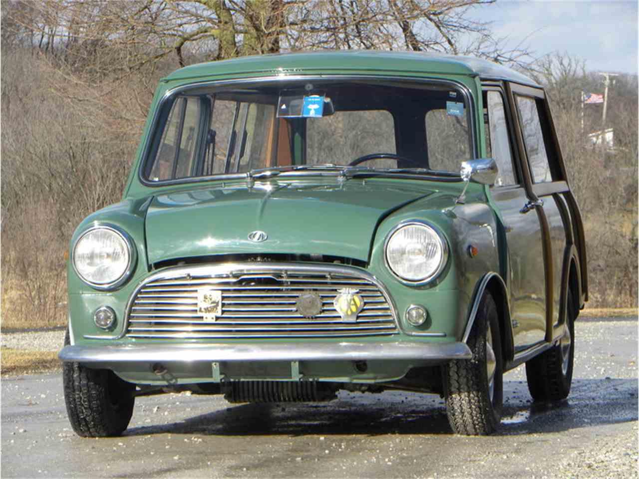 1967 mini morris truck - photo #6