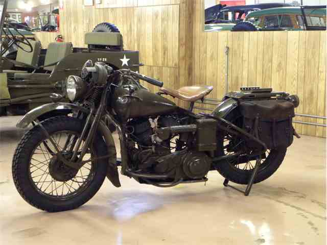 1942 Harley-Davidson WLA Army Issue Motorcycle | 953118