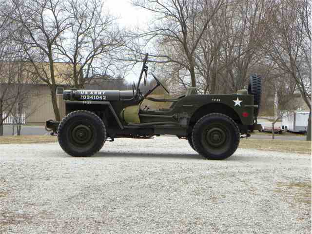 1942 Ford GPW Jeep US Army Issue | 953119