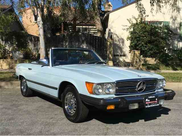 1979 Mercedes Benz 450sl For Sale On 19