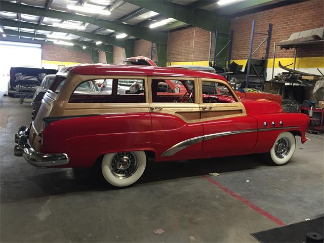 1952 Buick Woody Wagon   953196