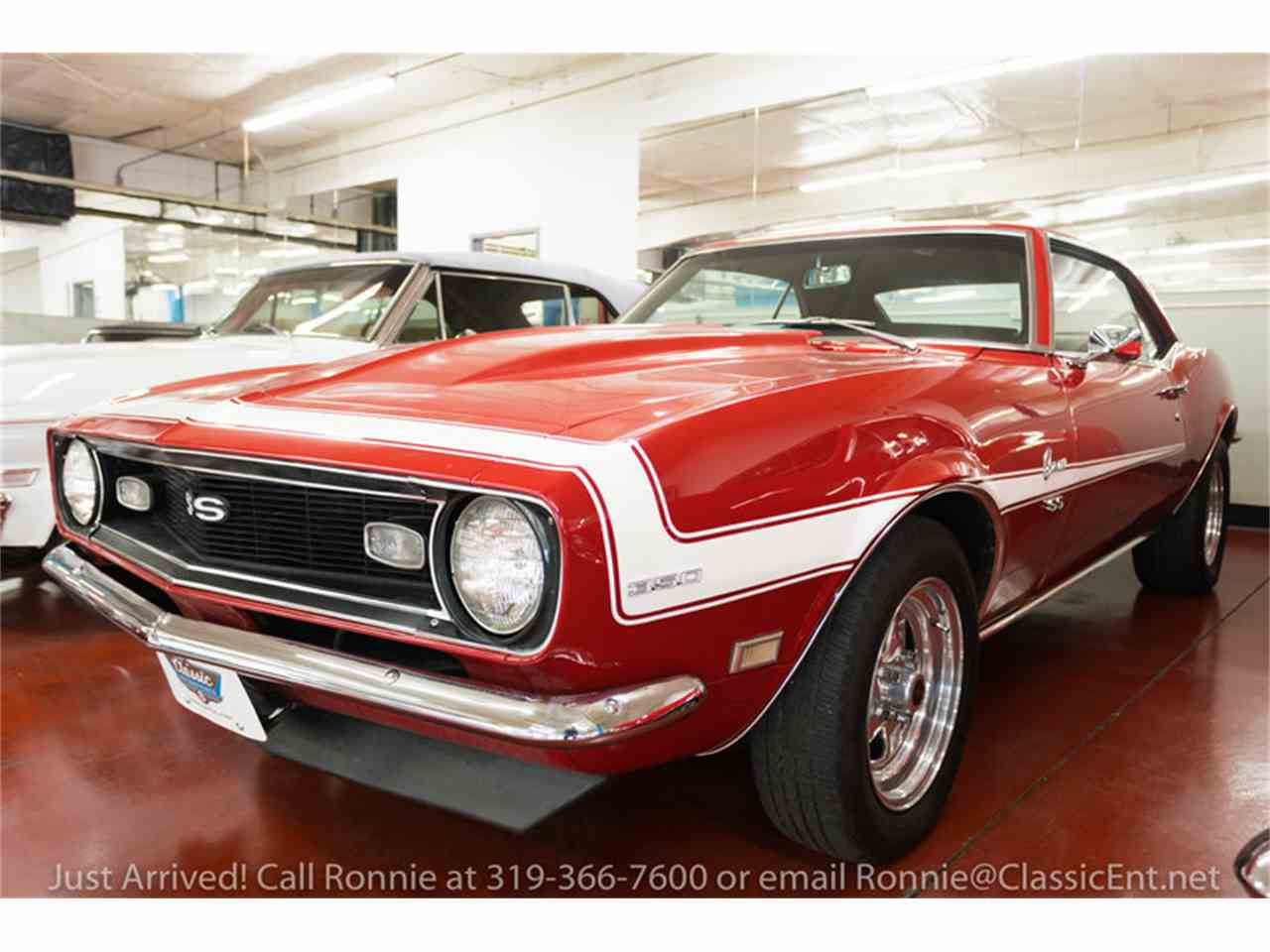 1968 chevrolet camaro for sale cc 950325. Black Bedroom Furniture Sets. Home Design Ideas