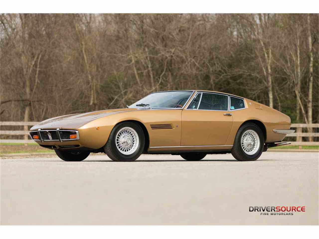 1972 maserati ghibli for sale cc 950390. Black Bedroom Furniture Sets. Home Design Ideas