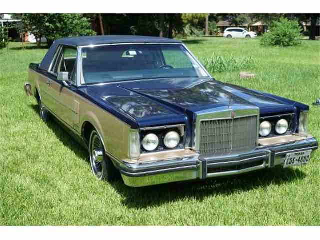 1981 Lincoln Continental Mark VI Coupe | 954583