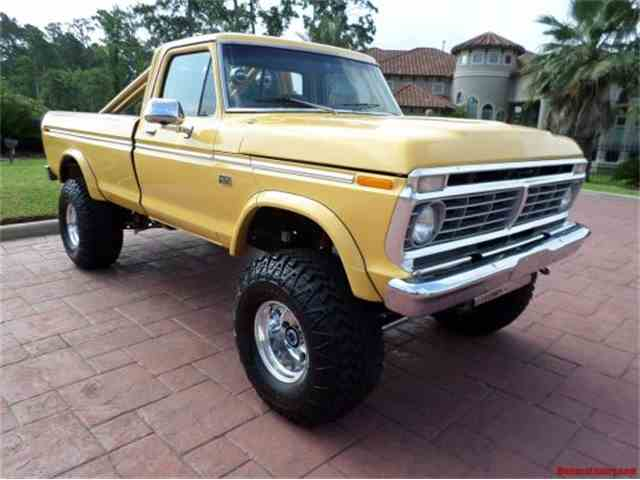 1974 Ford F250 Custom 4X4 Pickup | 954592