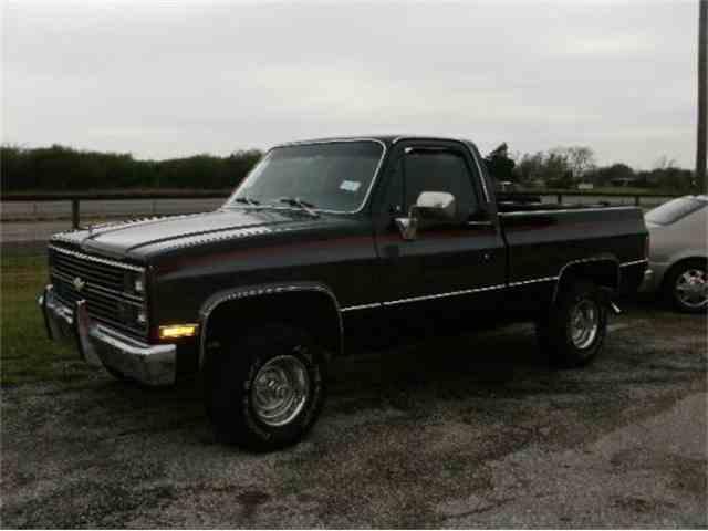 1984 Chevrolet K10 Silverado 4X4 SWB Pickup | 954701