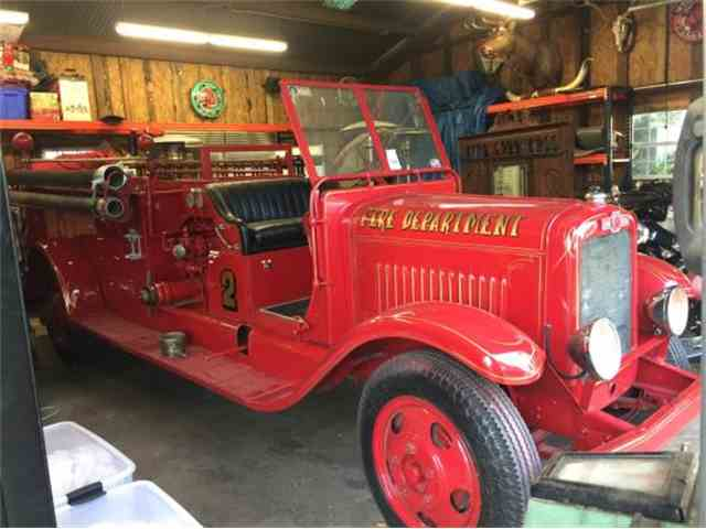 1929 American La France Fire Truck | 954711