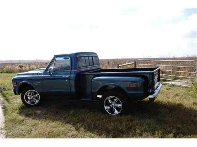 1972 Chevrolet C10 Custom Stepside Pickup | 954736