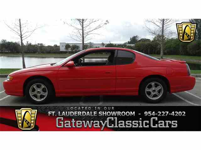 Picture of '02 Chevrolet Monte Carlo located in Coral Springs Florida Offered by Gateway Classic Cars - Fort Lauderdale - KGSA