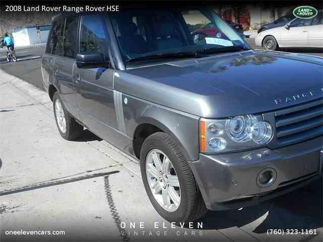 2008 Land Rover Range Rover HSE | 955019