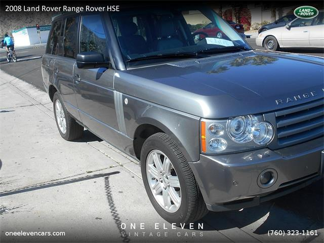 2008 Land Rover Range Rover HSE   955019