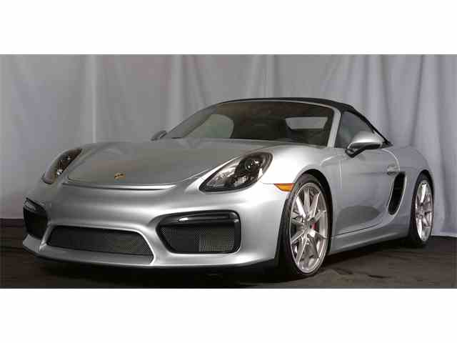 2016 Porsche Spyder | 955155