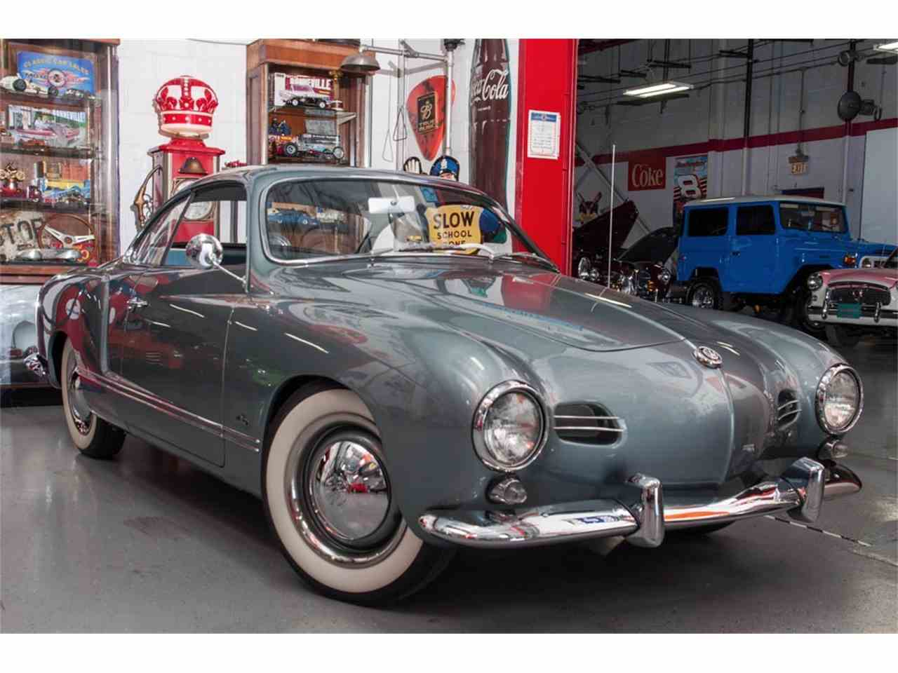 1957 Volkswagen Karmann Ghia For Sale Classiccars Com