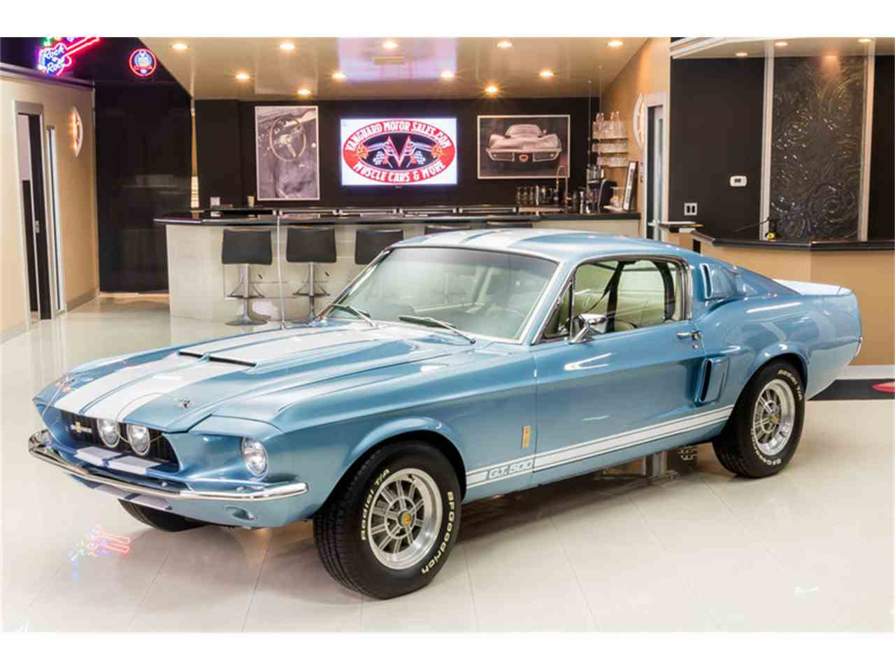1967 ford mustang fastback shelby gt500 recreation for sale cc 955392. Black Bedroom Furniture Sets. Home Design Ideas