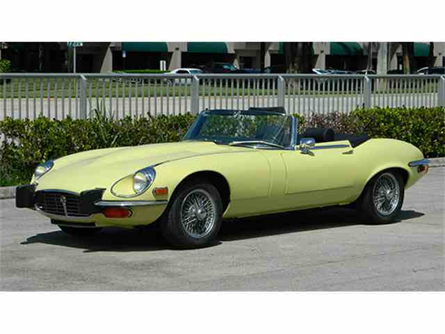 1974 Jaguar E-Type Series III V-12 Roadster | 955480