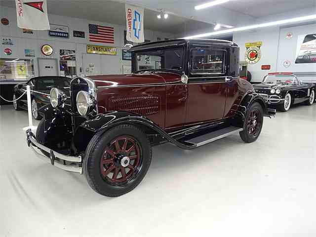 1930 ESSEX CHALLENGER SUPER SIX RUMBLE SEAT COUPE | 955544
