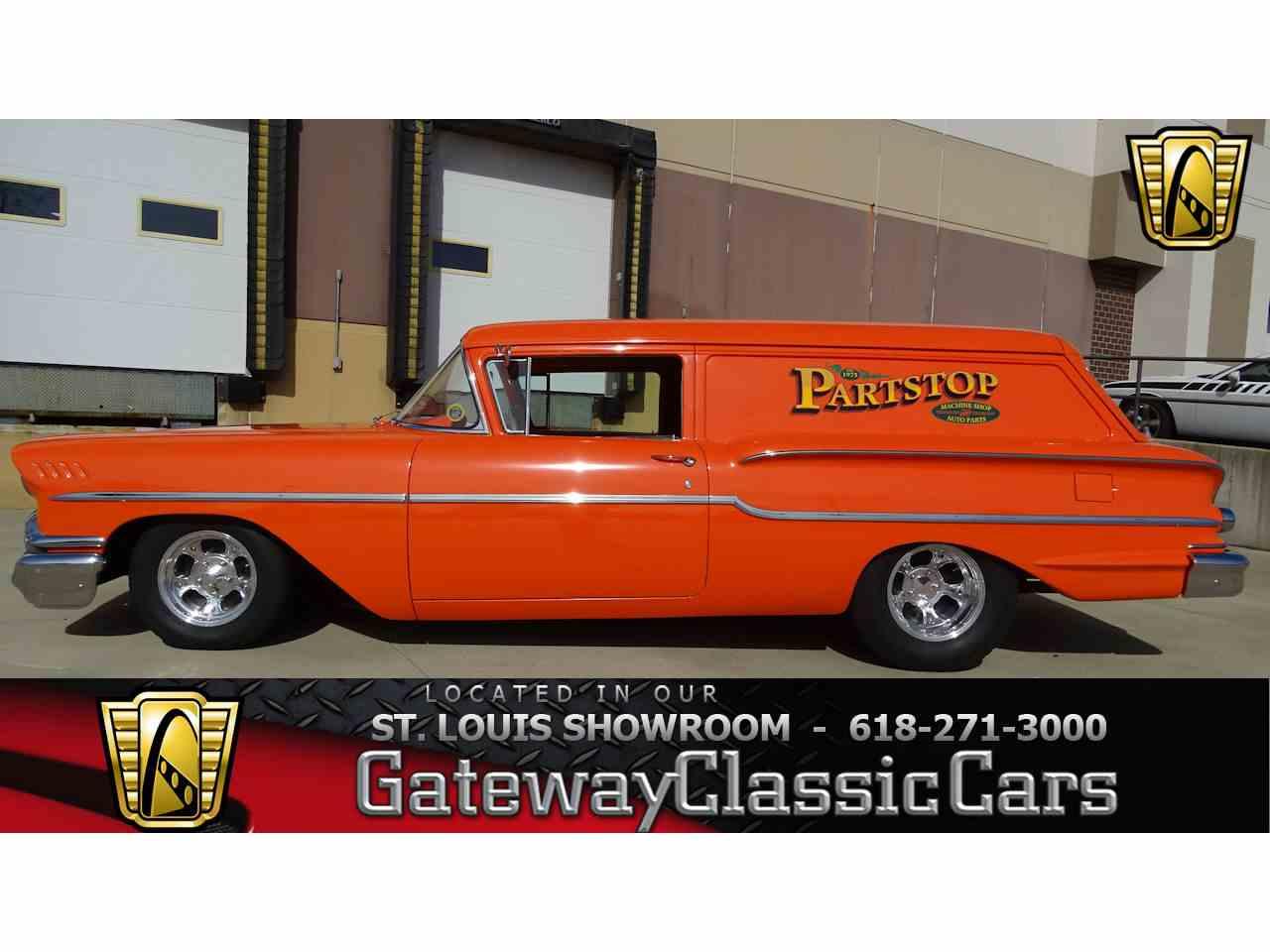 1958 chevrolet sedan delivery for sale cc 955573. Black Bedroom Furniture Sets. Home Design Ideas