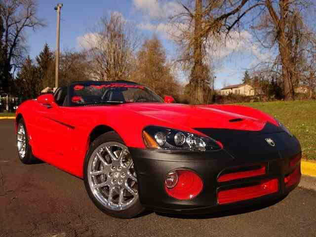 2003 Dodge Viper SRT10 Roadster | 955678