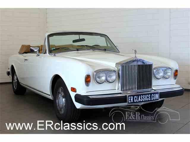 1984 Rolls-Royce Corniche   955694
