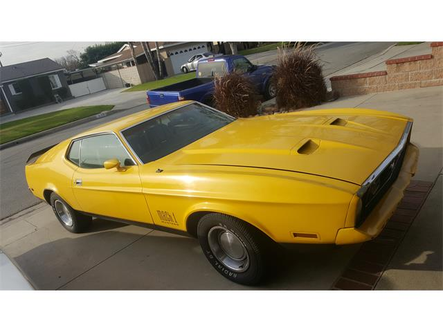 1971 Ford Mustang   955769