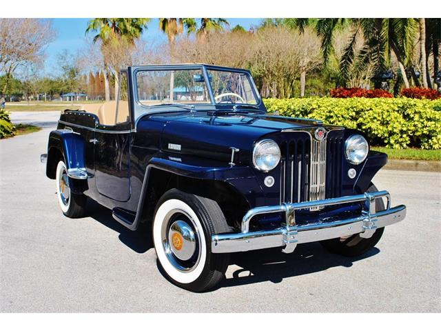 1949 Willys Jeepster   955901