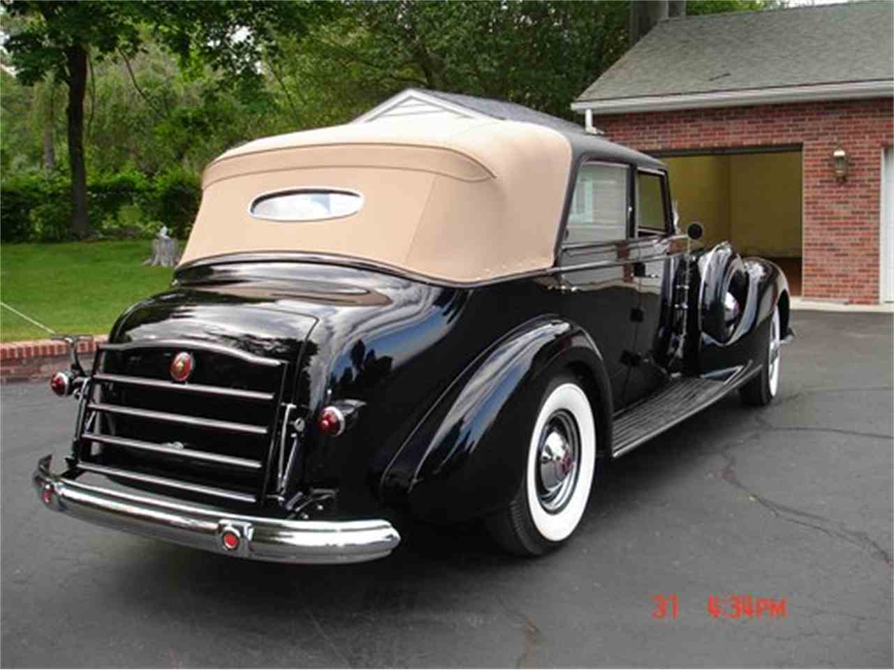 1938 packard custom for sale cc 955979. Black Bedroom Furniture Sets. Home Design Ideas