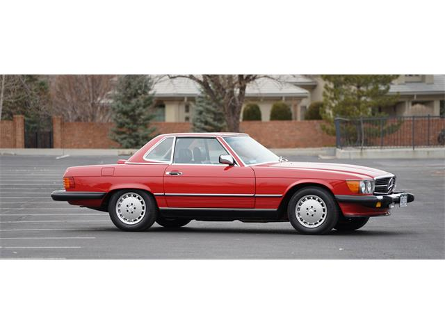 1986 Mercedes-Benz 560SL | 956007