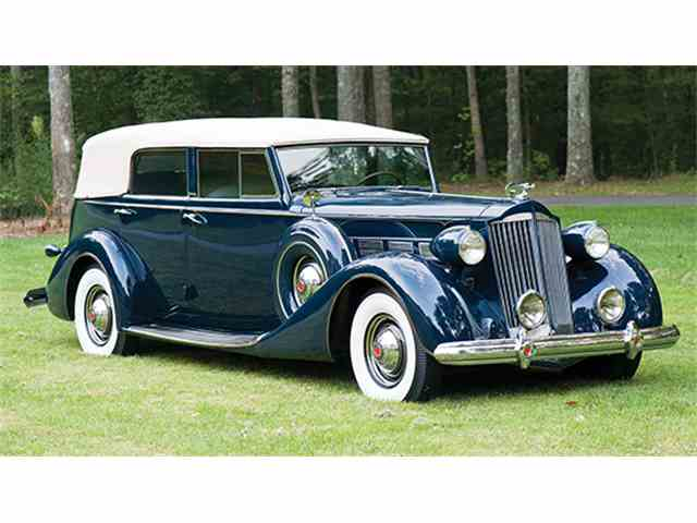 1937 Packard Super Eight Convertible Sedan | 956063