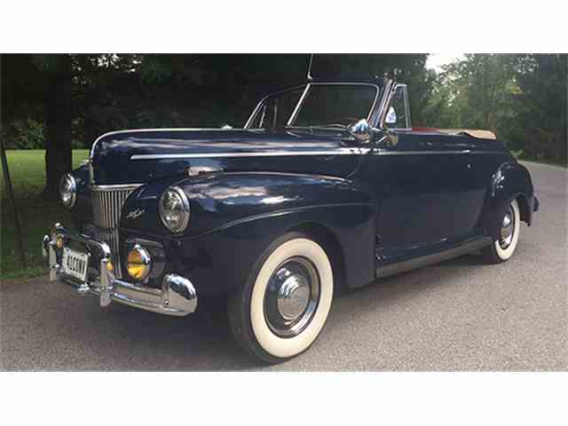 1941 Ford Super Deluxe Convertible Club Coupe | 956065