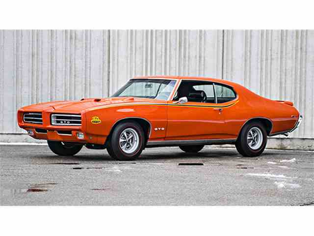 1969 Pontiac GTO Judge Ram Air III Hardtop Coupe | 956095