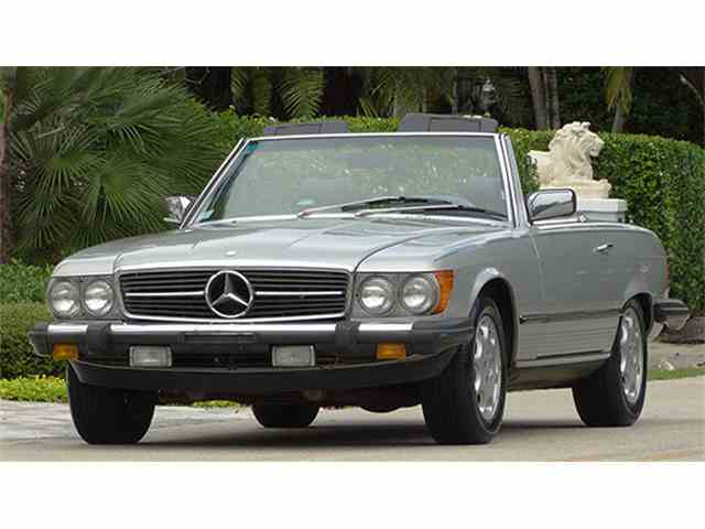1985 Mercedes-Benz 380SL | 956100