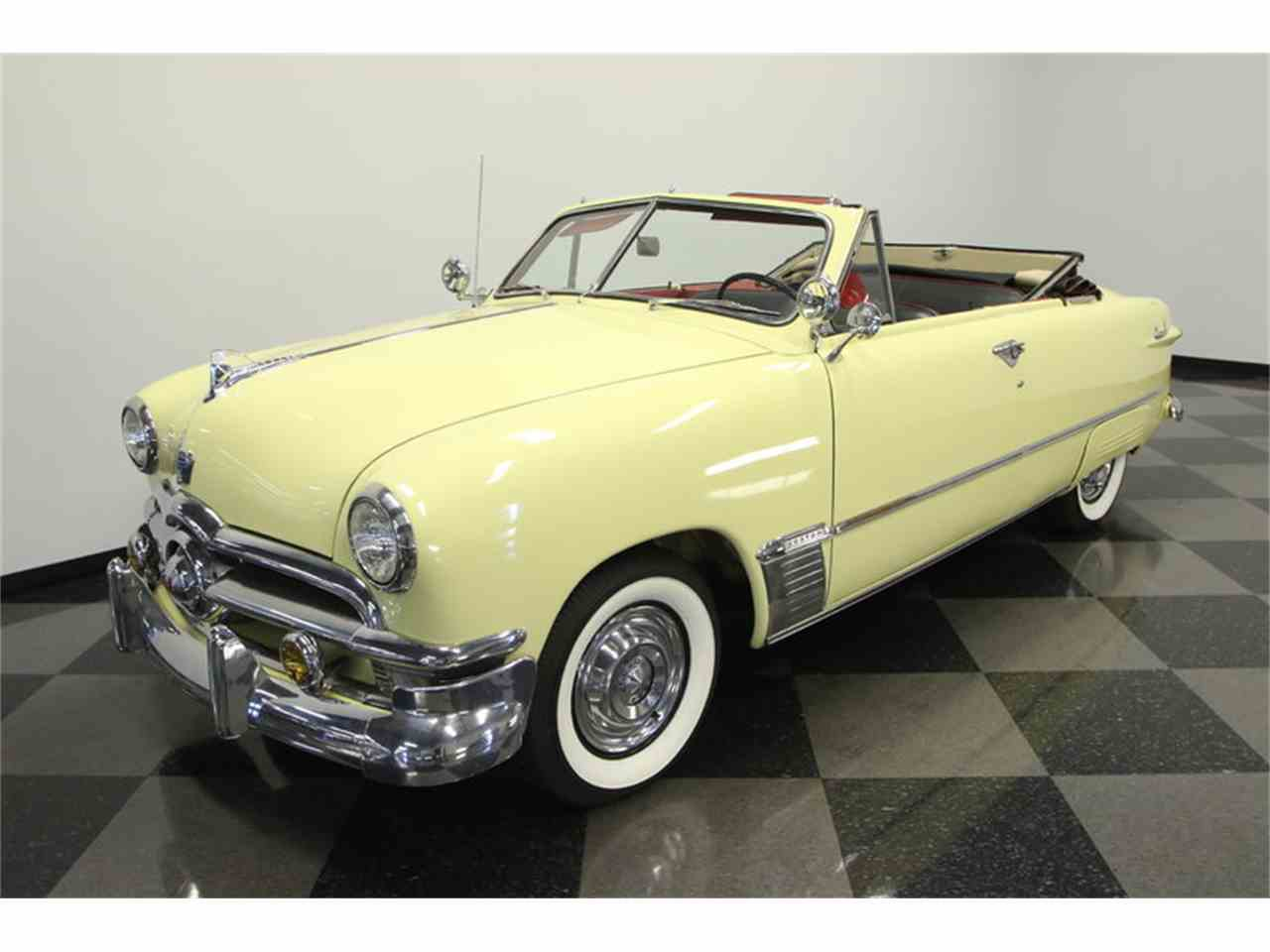 1950 ford convertible for sale cc 956256. Black Bedroom Furniture Sets. Home Design Ideas