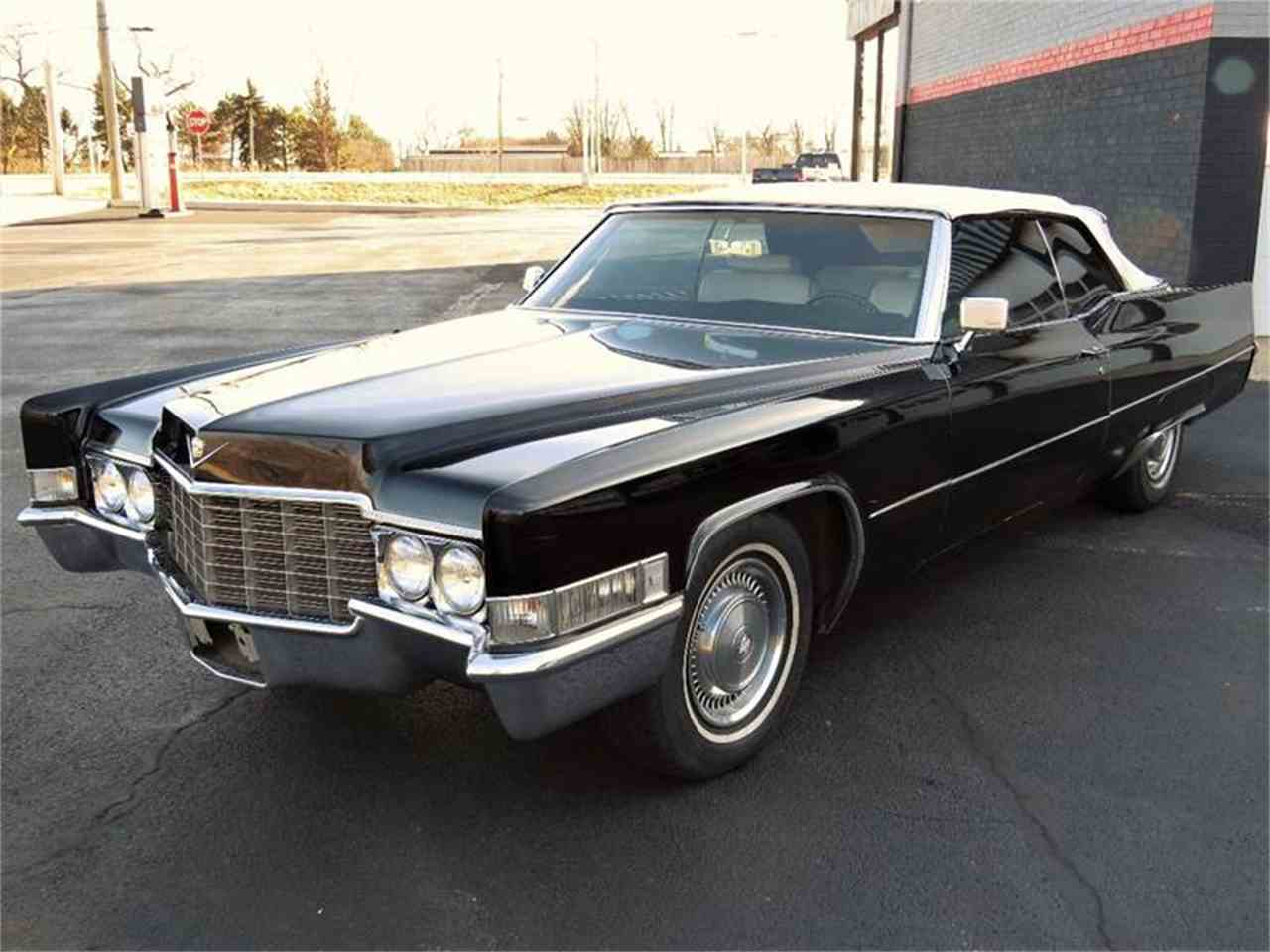1969 cadillac deville for sale cc 956467. Black Bedroom Furniture Sets. Home Design Ideas