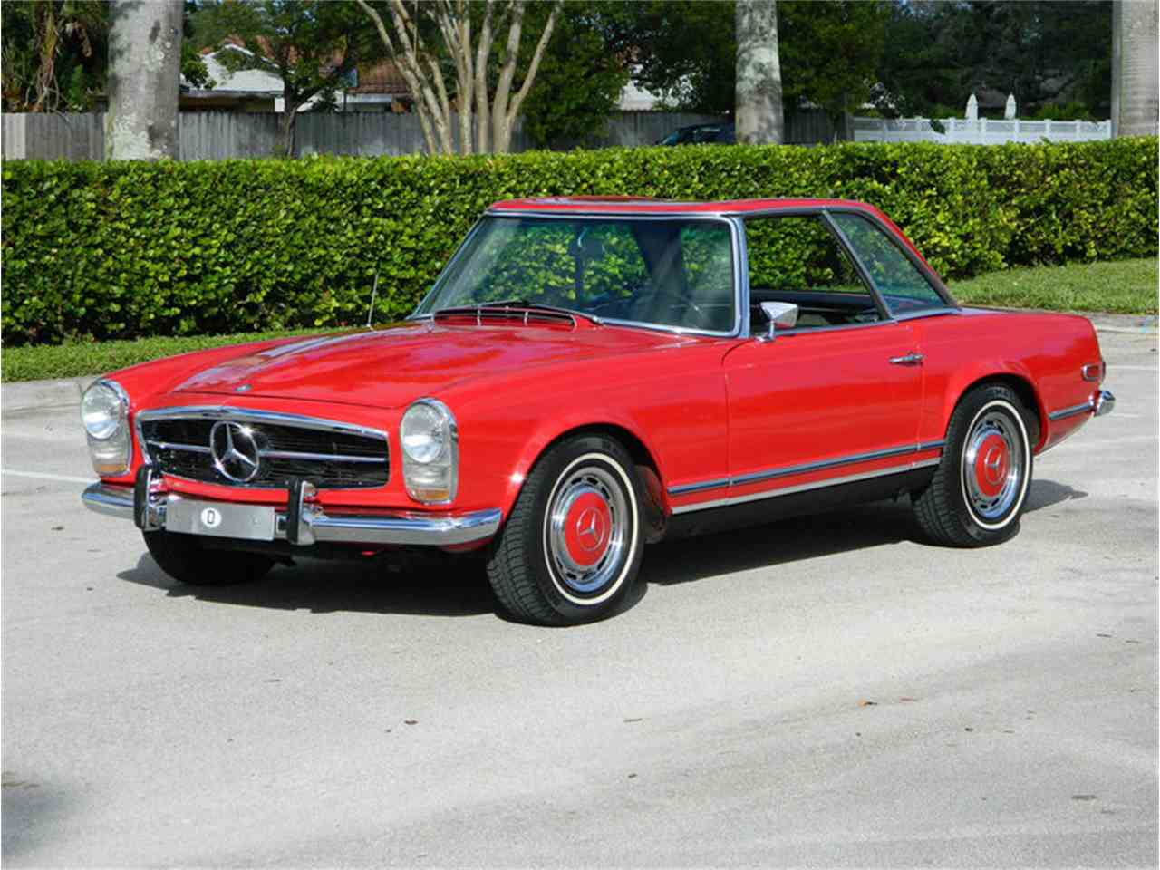 1968 mercedes benz 280sl for sale cc 956785. Black Bedroom Furniture Sets. Home Design Ideas