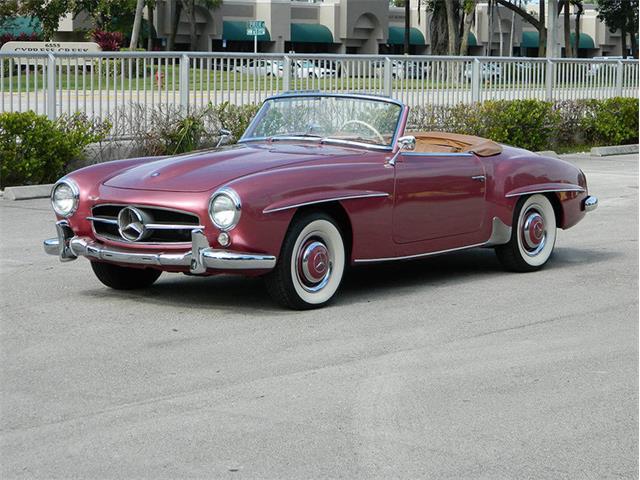 1958 Mercedes-Benz 190SL   956787