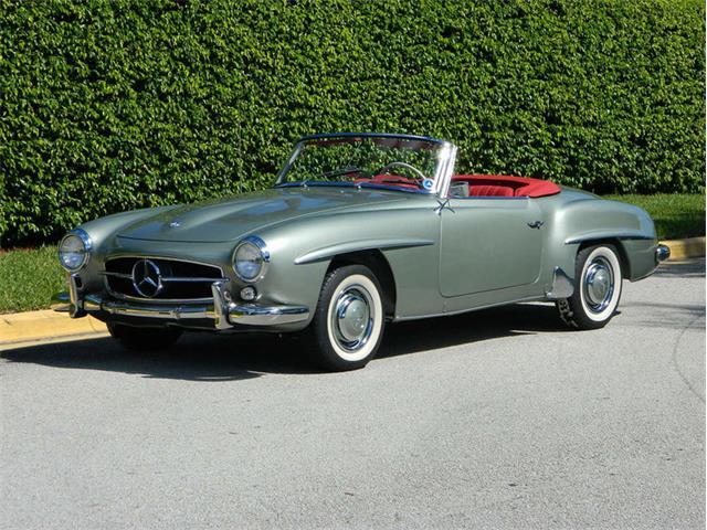 1960 Mercedes-Benz 190SL   956788