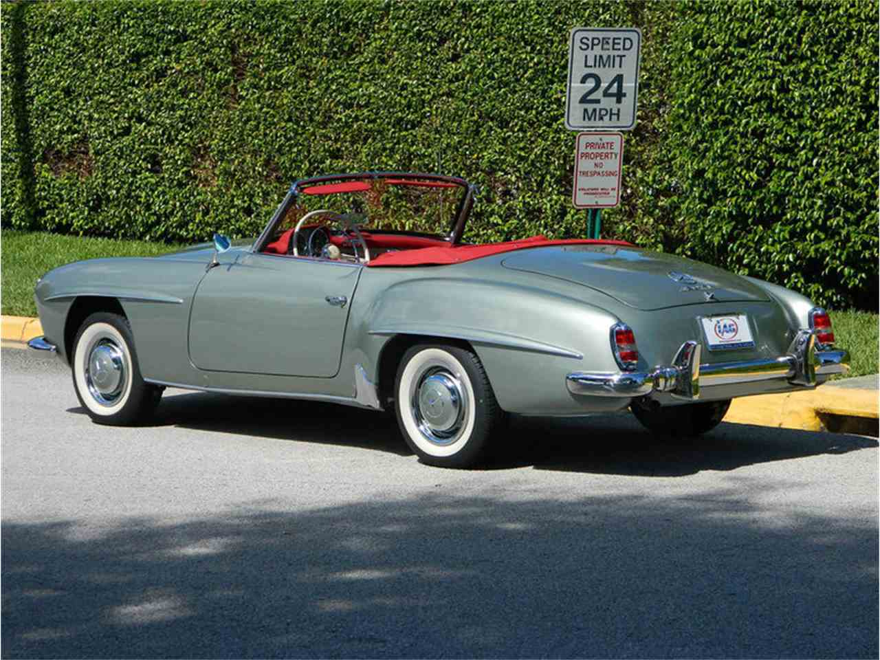 1960 Mercedes Benz 190sl For Sale Cc