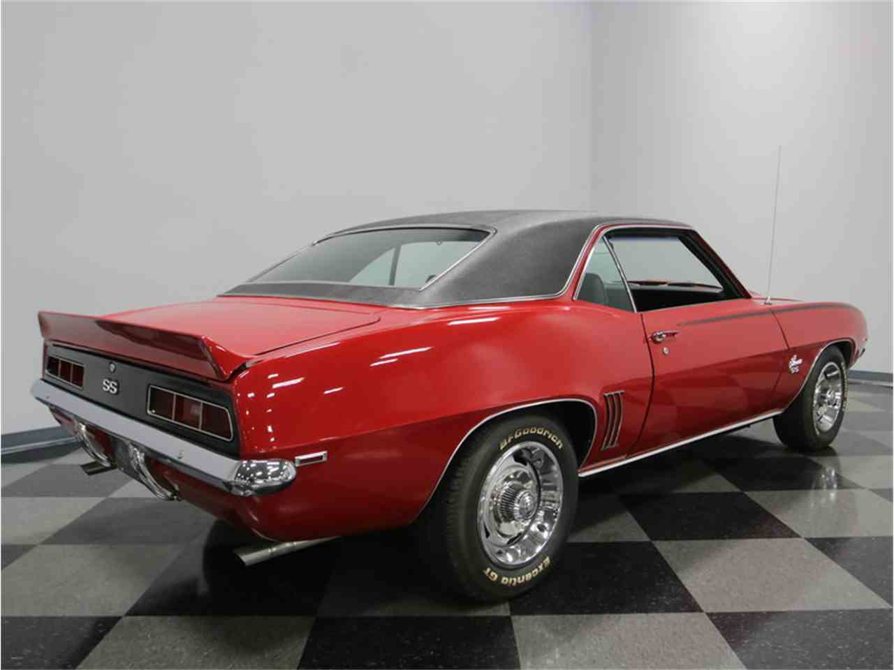1969 chevrolet camaro ss for sale cc 957019. Black Bedroom Furniture Sets. Home Design Ideas