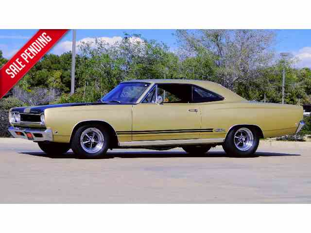 "1968 PLYMOUTH GTX 440cu ""WHISKEY RUNNER"" 
