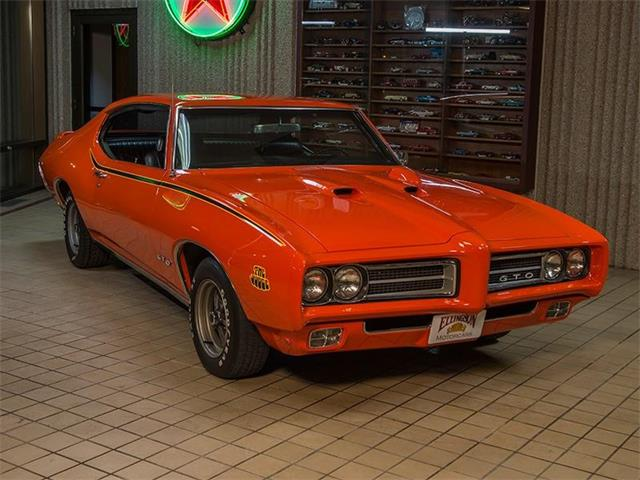 1969 Pontiac GTO   957063