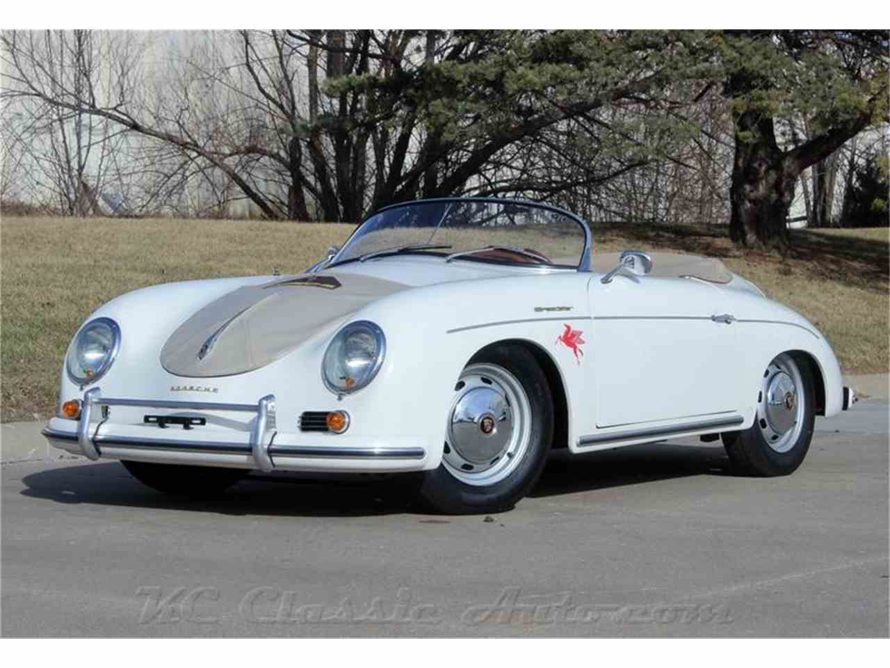1958 Porsche 356 Speedster Replica 1915 Scat Motor For