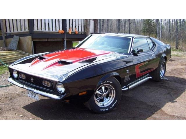 1971 Ford Mustang   957184